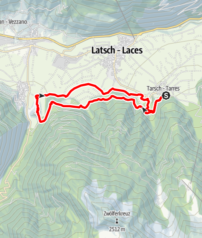Map / Tour Ramini Montani