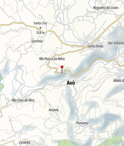 Map / Varandas de Avô Viewpoint