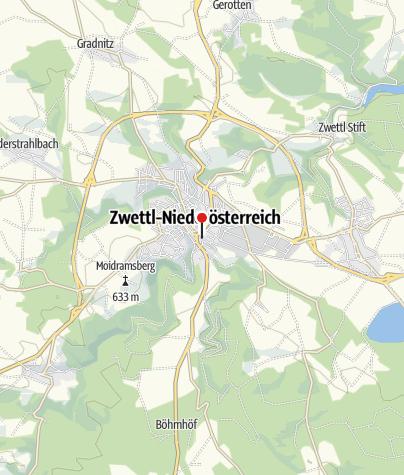 Mapa / Gasthaus Georg Hacker