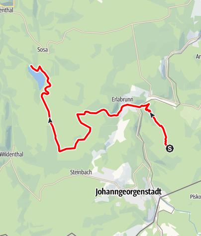 Karte / Stoneman Miriquidi MTB C-Edition Abschnitt Rabenberg Sosa