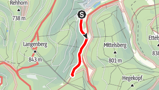 Map / Wanderstrecke Wameke -Im Keller- Wameke (Willingen)