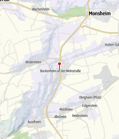 Map / Bockenheimer Weinstube
