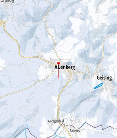Karte / Altenberg