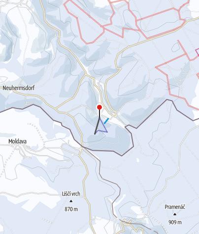 Karte / Altenberg / Rehefeld - Zaunhaus