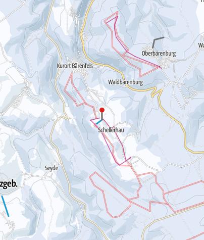 Karte / Altenberg / Schellerhau