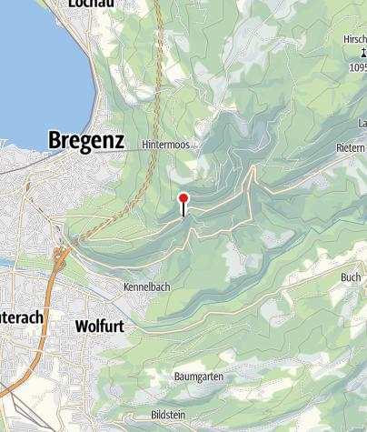 Karte / Bregenz, Wallfahrtskirche Heiliger Wendelin