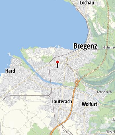 Karte / Bregenz, Katholische Stadtpfarrkirche Mariahilf