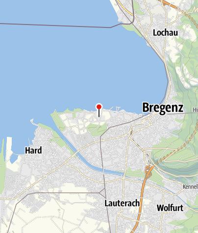 Karte / Bregenz, Kloster und Klosterkirche Mehrerau