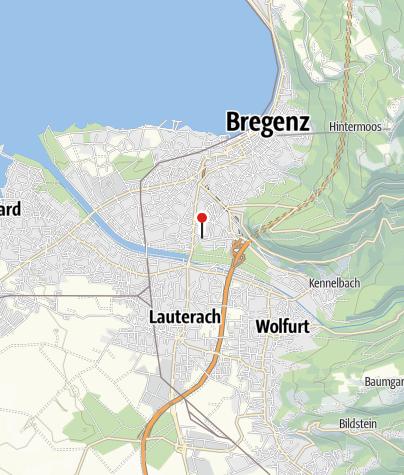 Karte / Bregenz, Katholische Pfarrkirche Heiliger Kolumban