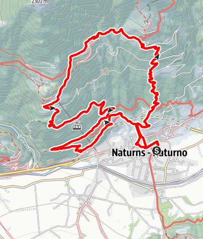 Mapa / Naturns Skyrace