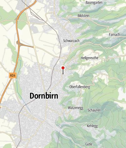 Karte / Dornbirn, Katholische Pfarrkirche Zu Unserer Lieben Frau Mariä Heimsuchung