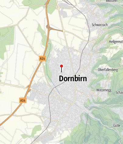 Karte / Dornbirn, Katholische Pfarrkirche Heiliger Christoph mit angebautem Pfarrheim
