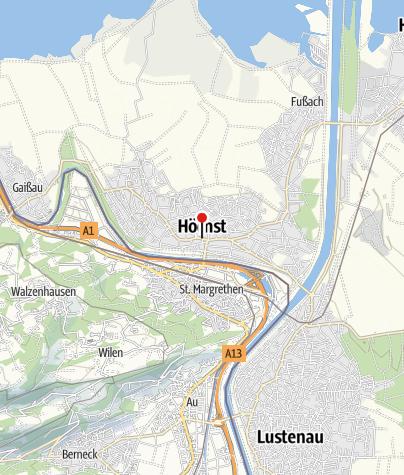 Karte / Höchst, Katholische Pfarrkirche Heiliger Johannes der Täufer