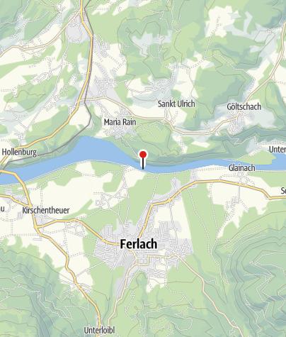 Karte / Einstiegsstelle Kraftwerk Ferlach
