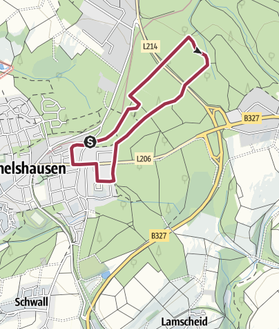 Karte / Spaziergang 2 - Emmelshausen historisch
