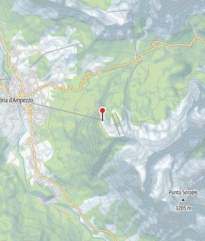 Mappa / Bergstation Faloria