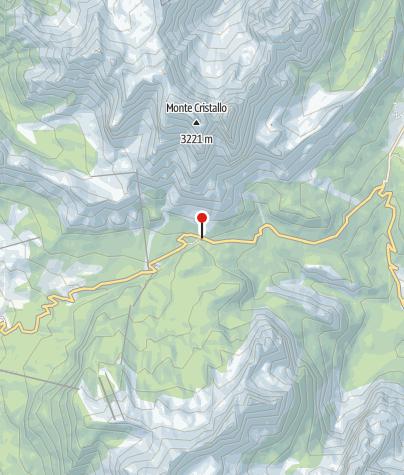 Karte / Passo Tre Croci