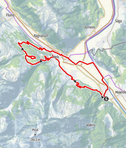 Kaart / E-Bike & Hike - Chapfensee