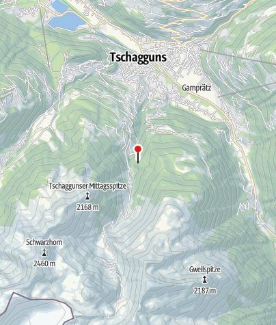 Karte / Berghaus Manuaf