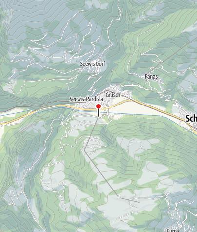 Map / Talstation Grüsch-Danusa