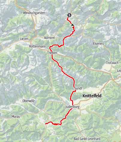 Map / Eisenwurzenweg 08 durch die Steiermark