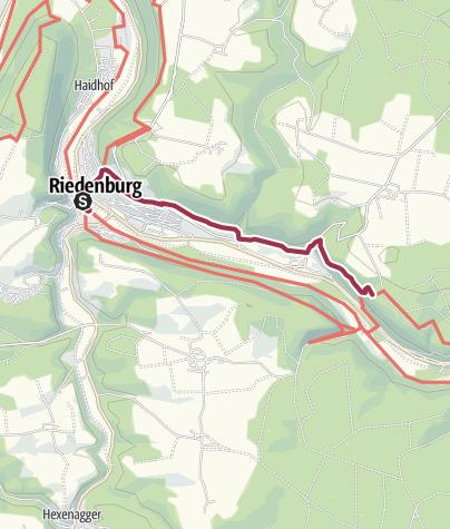 Map / Wander-Brotzeit: Riedenburg, Burg Prunn & Schifffahrt