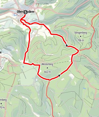 Map / Monja´s schönster Spazierweg