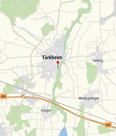 Karte / Tennisanlage Türkheim