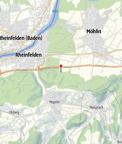 Karte / Feuerstelle Steppberg Fröschweiher