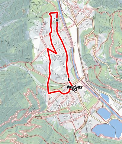 Karte / Venser Messweg