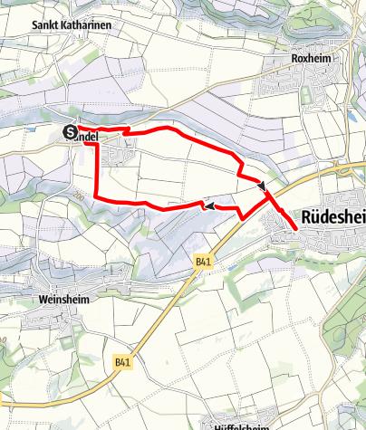 Karte / Weiherbachtour Mandel