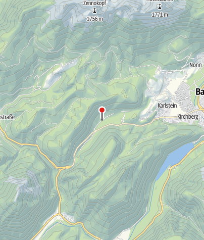 Karte / Wegezentrum 7: Thumsee/Listsee