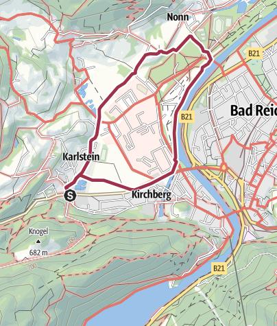 Karte / Karlsteiner Runde