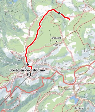 Mapa / Wald-Wild-Wunder-Weg