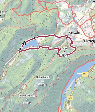 Karte / Rund ums Pankraz-Kirchlein