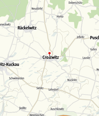 Mapa / Pilgerherberge Crostwitz - Putniska hospoda Chrósćicy