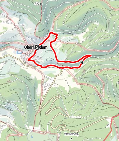 Map / Oberhundem Kur- und Nordic-Walking-Weg Hardtweg