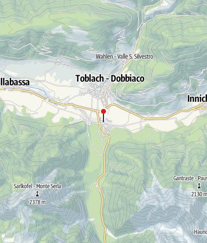 Karte / Toblach