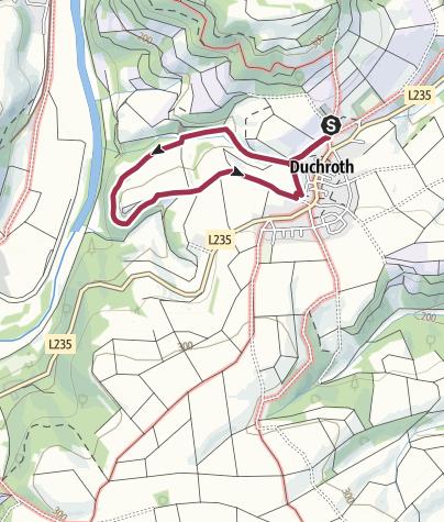 Carte / Hoekersfels Rundwanderweg