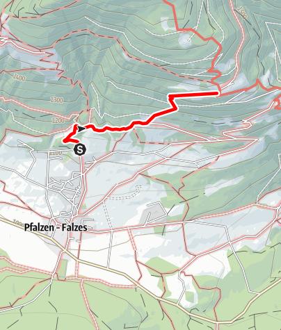 Karte / Zum Kofler am Kofl