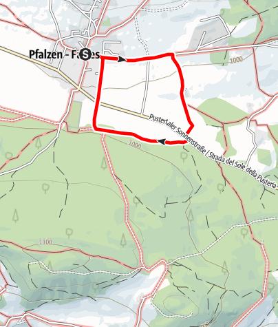 Karte / Zum Valentinskirchlein