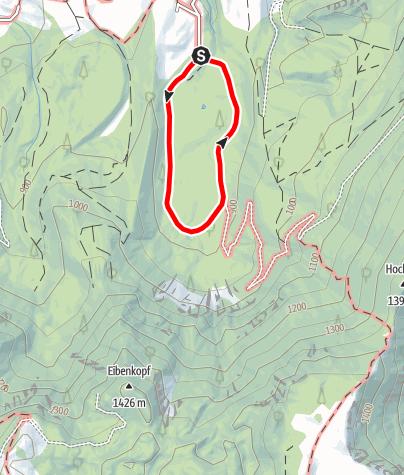 Karte / Hochmoor Leckermoos (Moorweg)