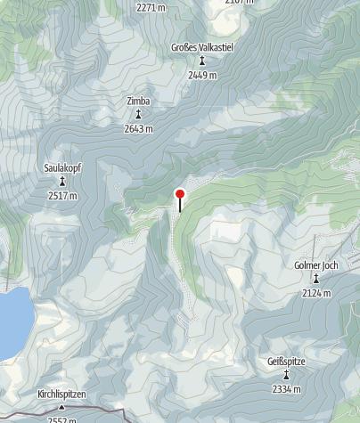 Karte / Alpengasthaus Rellstal