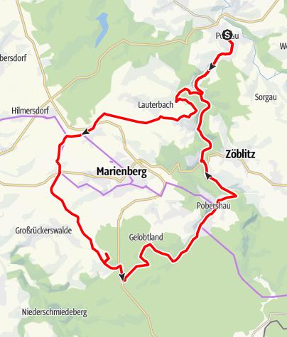 Karte / Vom Flusstal zur Panoramaaussicht