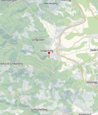 Karte / Parkplatz 1 Bad Schwanberg