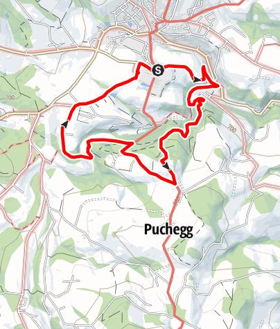 Karte / Erzherzog Johann Weg