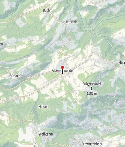 Karte / Alberschwende, Katholische Pfarrkirche Heiliger Martin