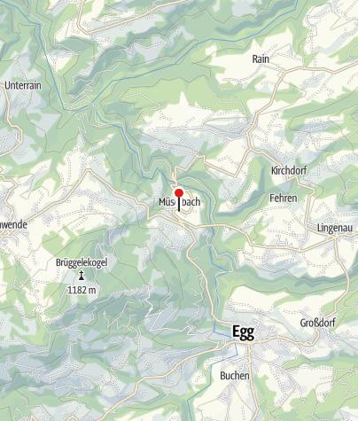 Karte / Alberschwende, Expositurkirche Heiliges Herz Jesu Mariä