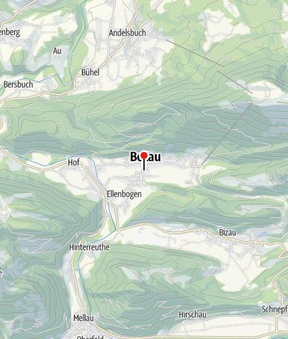 Karte / Bezau, Kapuzinerkirche