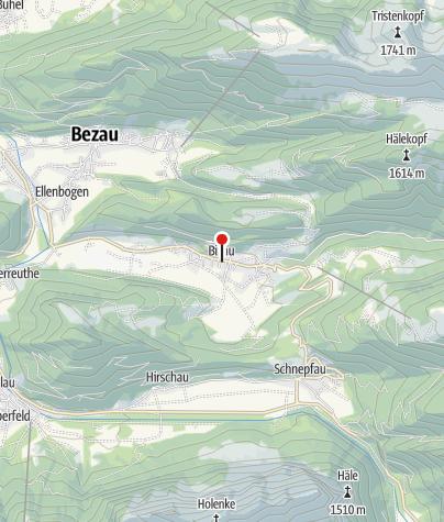 Karte / Bizau, Katholische Pfarrkirche Heiliger Valentin